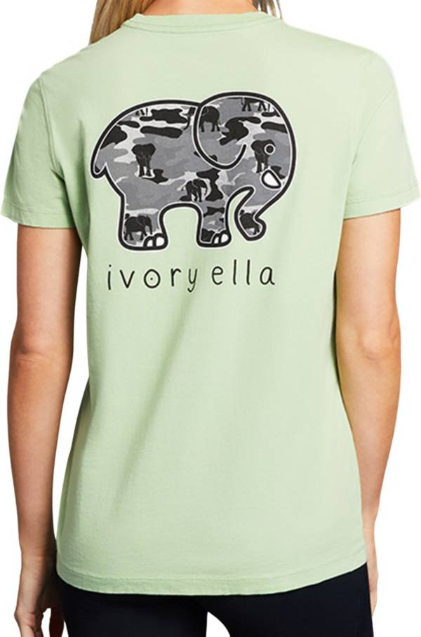 Ivory Ella Women's Camo Short Sleeve T-Shirt product image