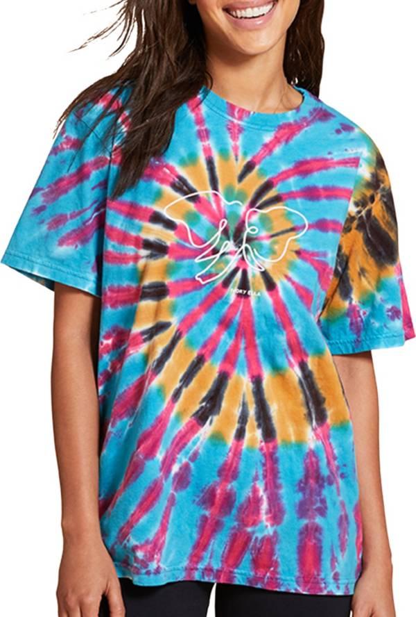 Ivory Ella Women's Feather Tie Dye Short Sleeve T-Shirt product image