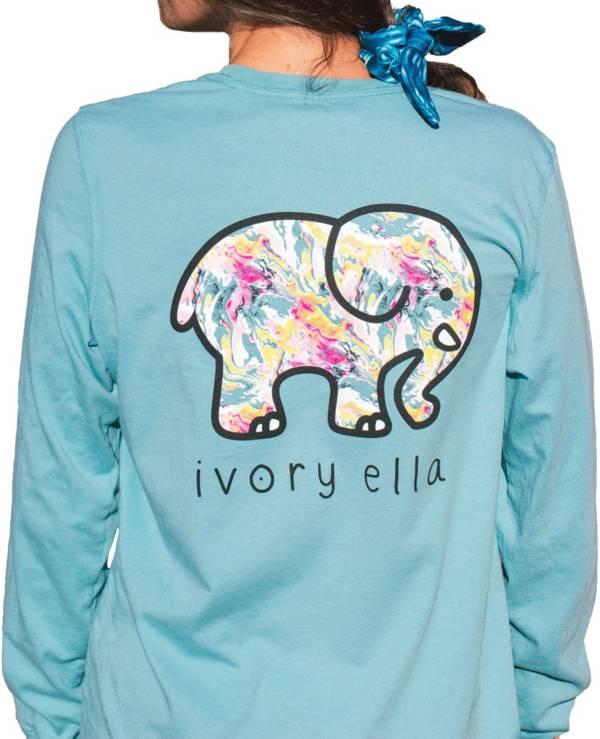 Ivory Ella Women's Heritage Marble Long Sleeve T-Shirt product image