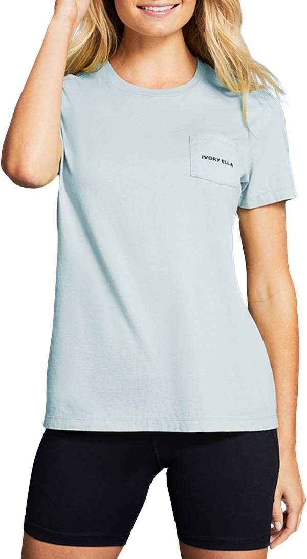 Ivory Ella Women's Pastel Stars Short Sleeve Shirt product image