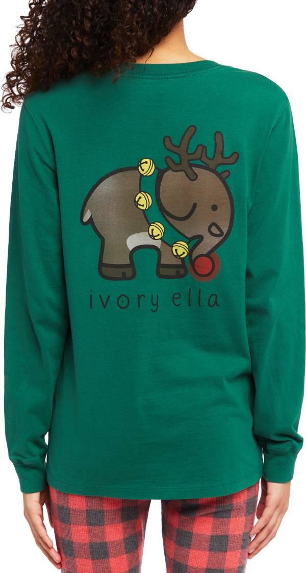 Ivory Ella Women's Reindeer Long Sleeve T-Shirt product image