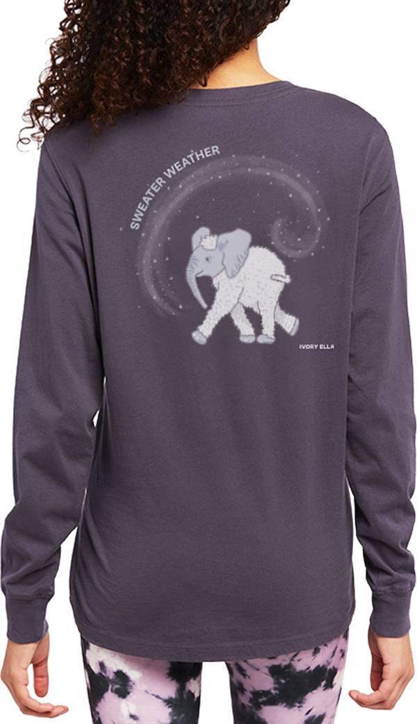 Ivory Ella Women's Sweater Weather Long Sleeve T-Shirt product image