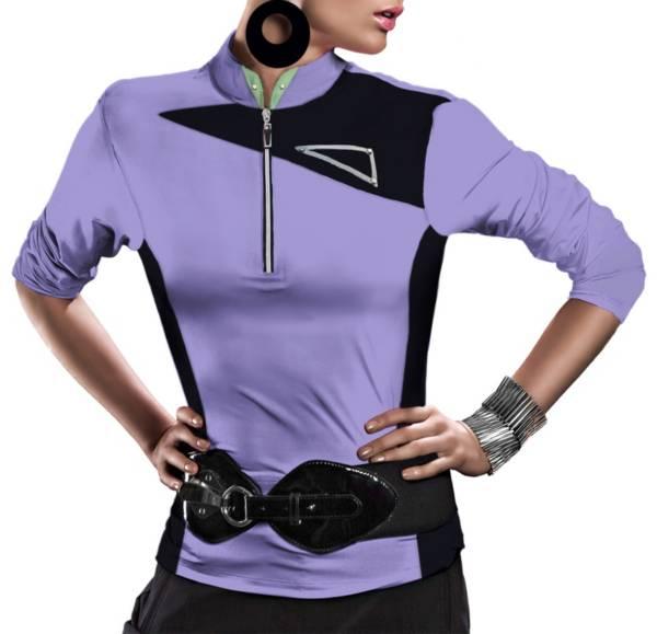 Jamie Sadock Women's 3/4 Sleeve 1/4 Zip Golf Pullover product image