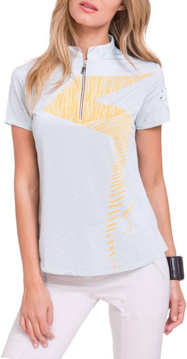 Jamie Sadock Women's Cyclone 1/4 Zip Golf Polo product image