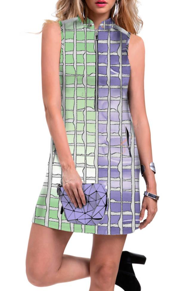 Jamie Sadock Women's Shibori Sleeveless Golf Dress product image