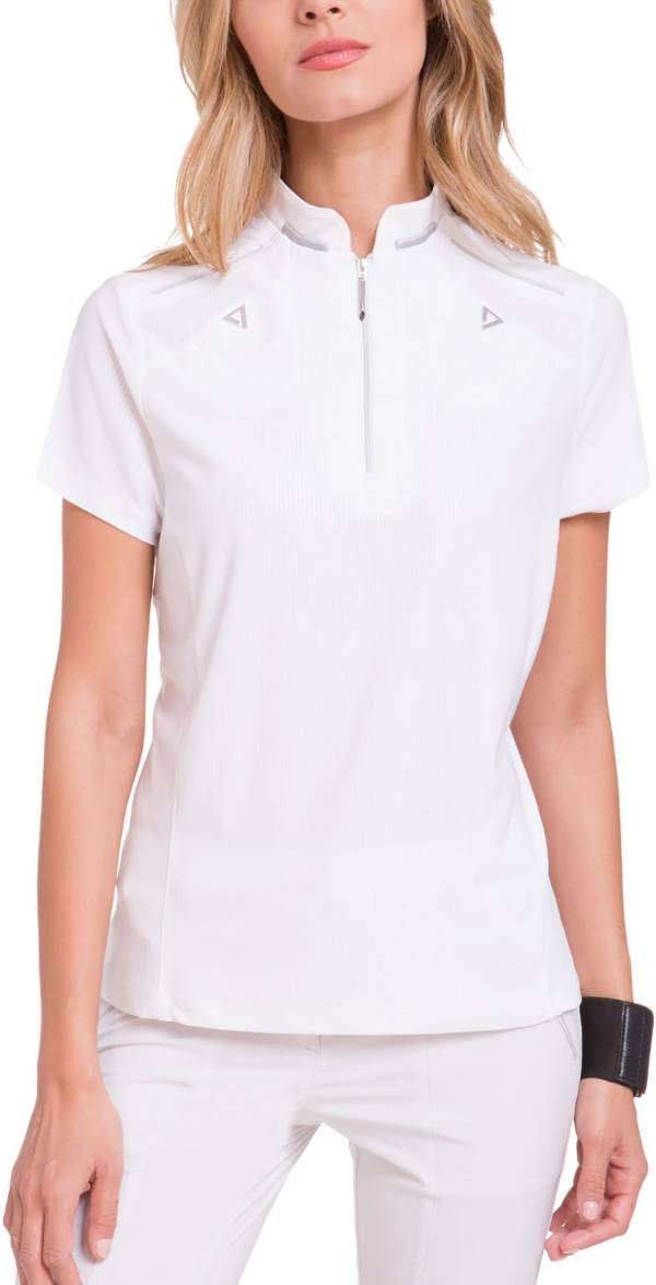 Jamie Sadock Women's Solid Short Sleeve Golf Polo product image