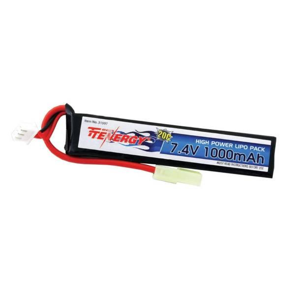 Tenergy 7.4V 1000mAh Li-Pro Rechargeable Battery Stick product image