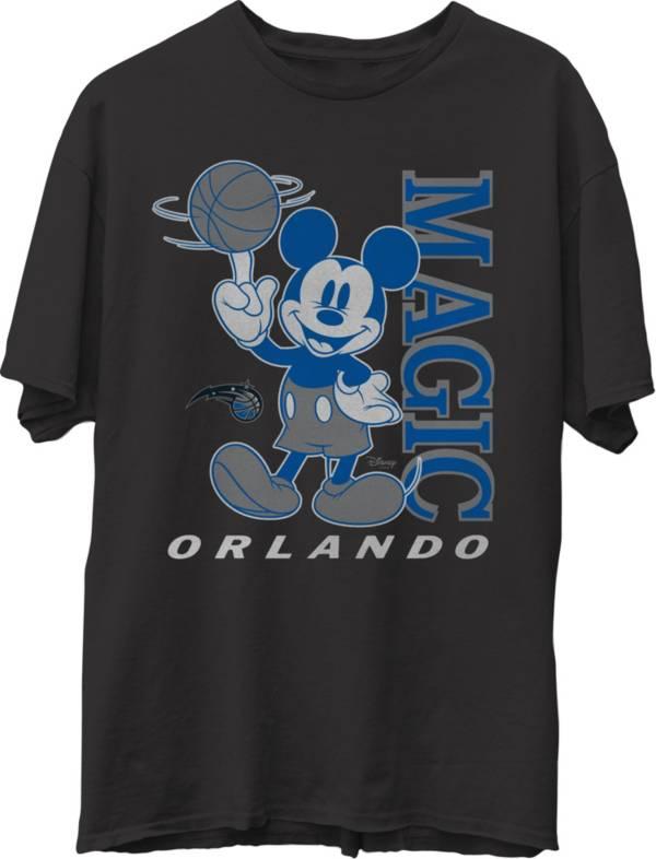 Junk Food Men's Orlando Magic Disney Vintage Mickey Squad Black T-Shirt product image