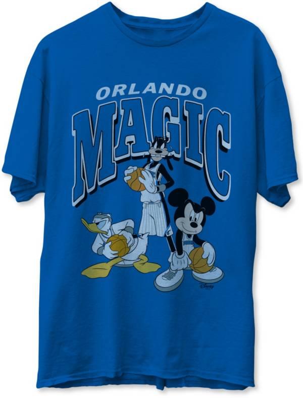Junk Food Men's Orlando Magic Blue Disney Vintage Mickey Squad T-Shirt product image