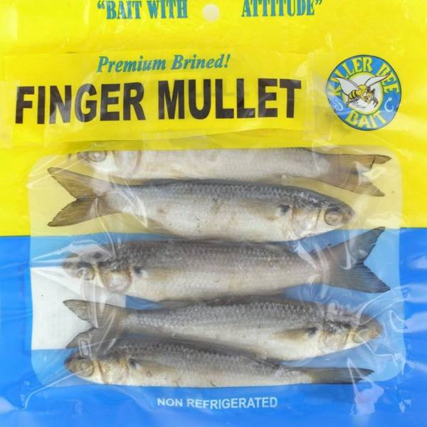 Killer Bee Finger Mullet Bait product image