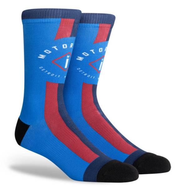 PKWY 2020-21 City Edition Detroit Pistons Crew Socks product image