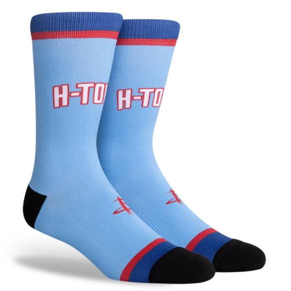 PKWY 2020-21 City Edition Houston Rockets Crew Socks product image