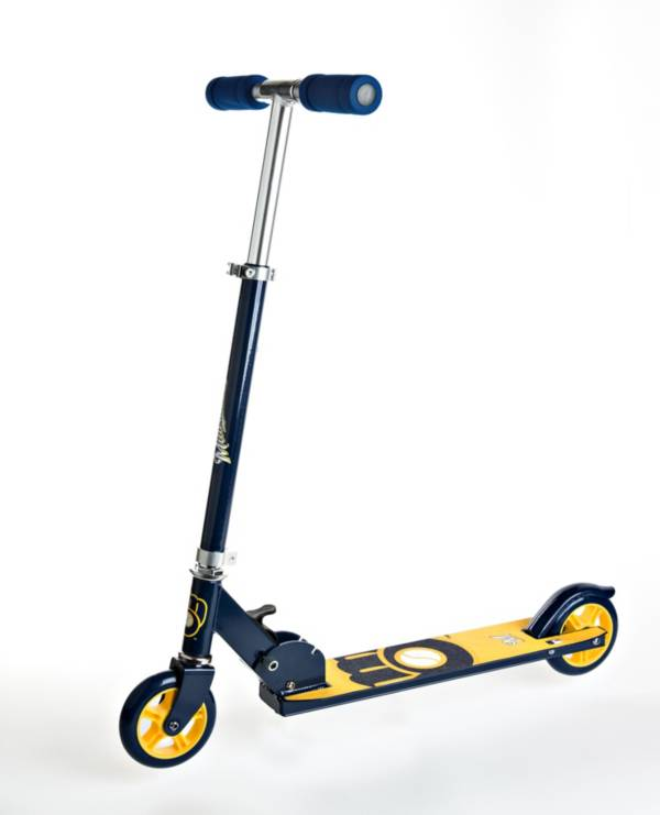 Walk-Onz Sports Youth Milwaukee Brewers Folding Kick Scooter product image
