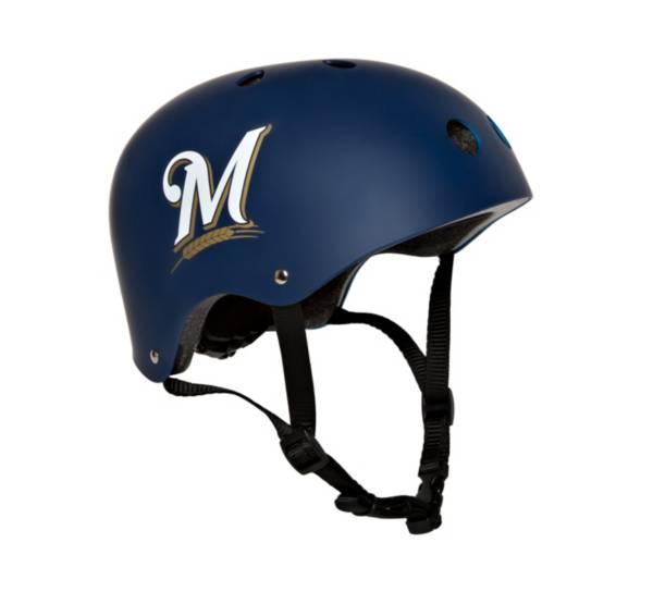 Walk-Onz Sports Youth Milwaukee Brewers Multi-Sport Helmet product image