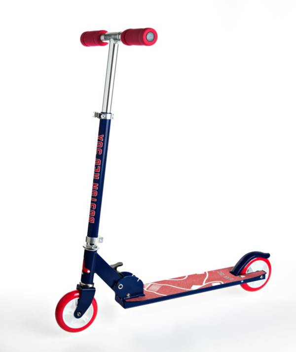 Walk-Onz Sports Youth Boston Red Sox Folding Kick Scooter product image