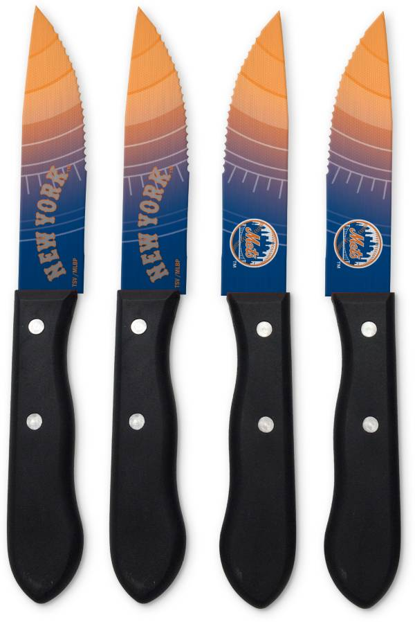 Sports Vault New York Mets Steak Knives product image