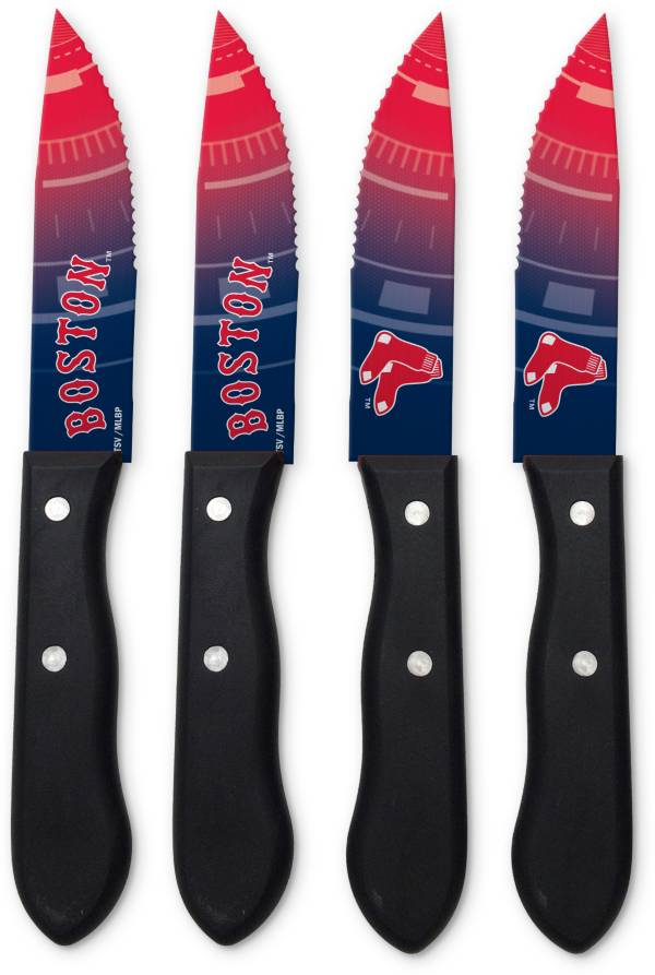 Sports Vault Boston Red Sox Steak Knives product image
