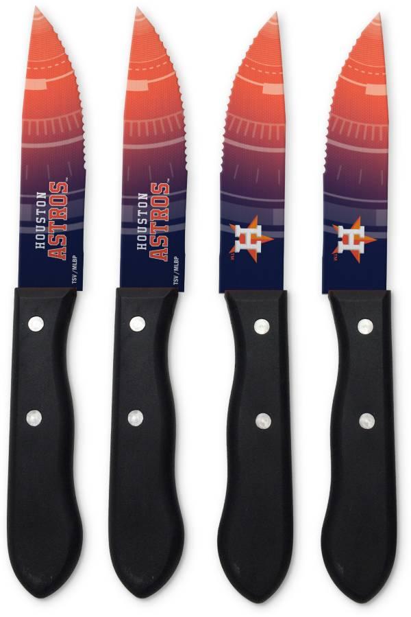 Sports Vault Houston Astros Steak Knives product image