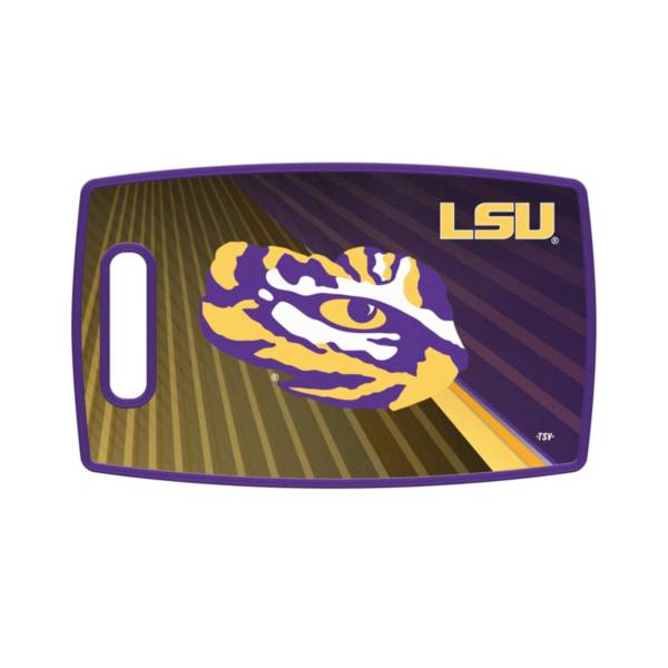 Sports Vault LSU Tigers Cutting Board product image