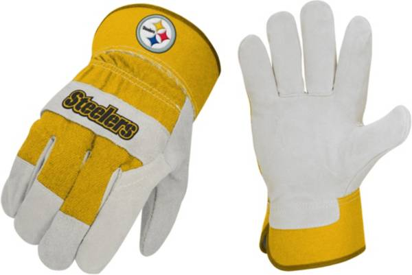 Sports Vault Pittsburgh Steelers Work Gloves product image