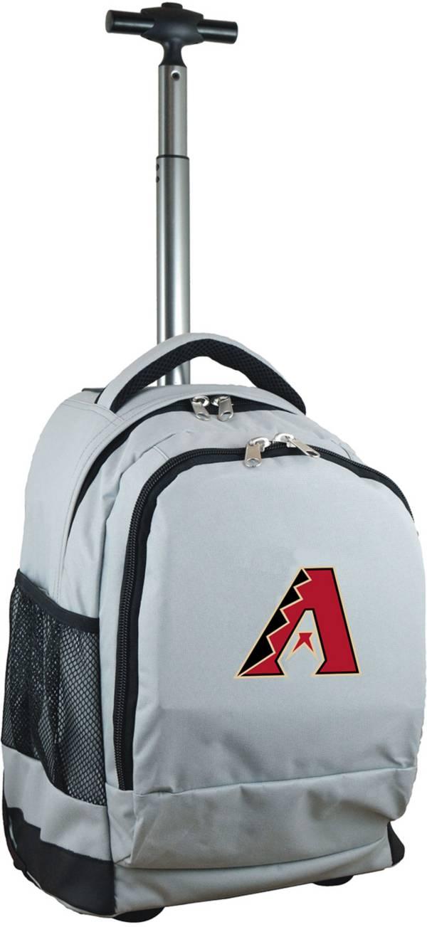 Mojo Arizona Diamondbacks Wheeled Premium Grey Backpack product image