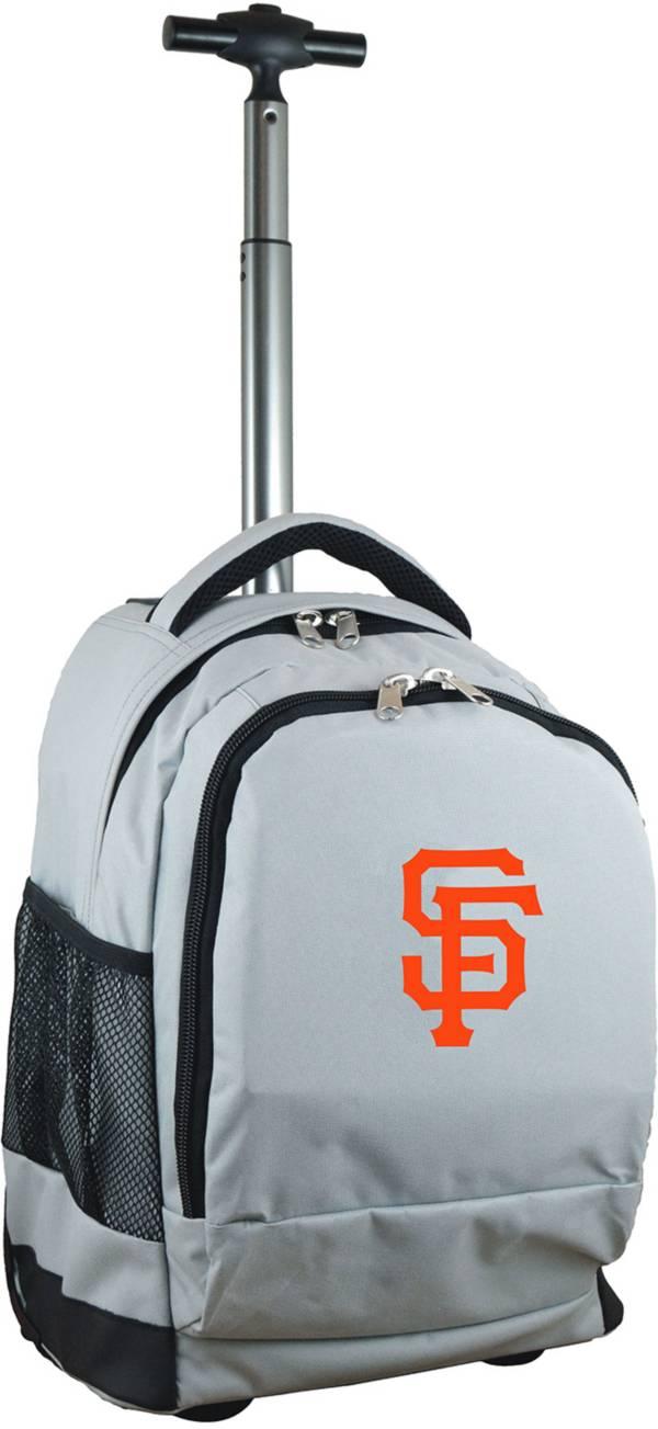 Mojo San Francisco Giants Wheeled Premium Grey Backpack product image