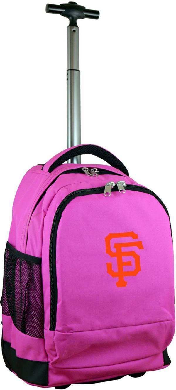 Mojo San Francisco Giants Wheeled Premium Pink Backpack product image