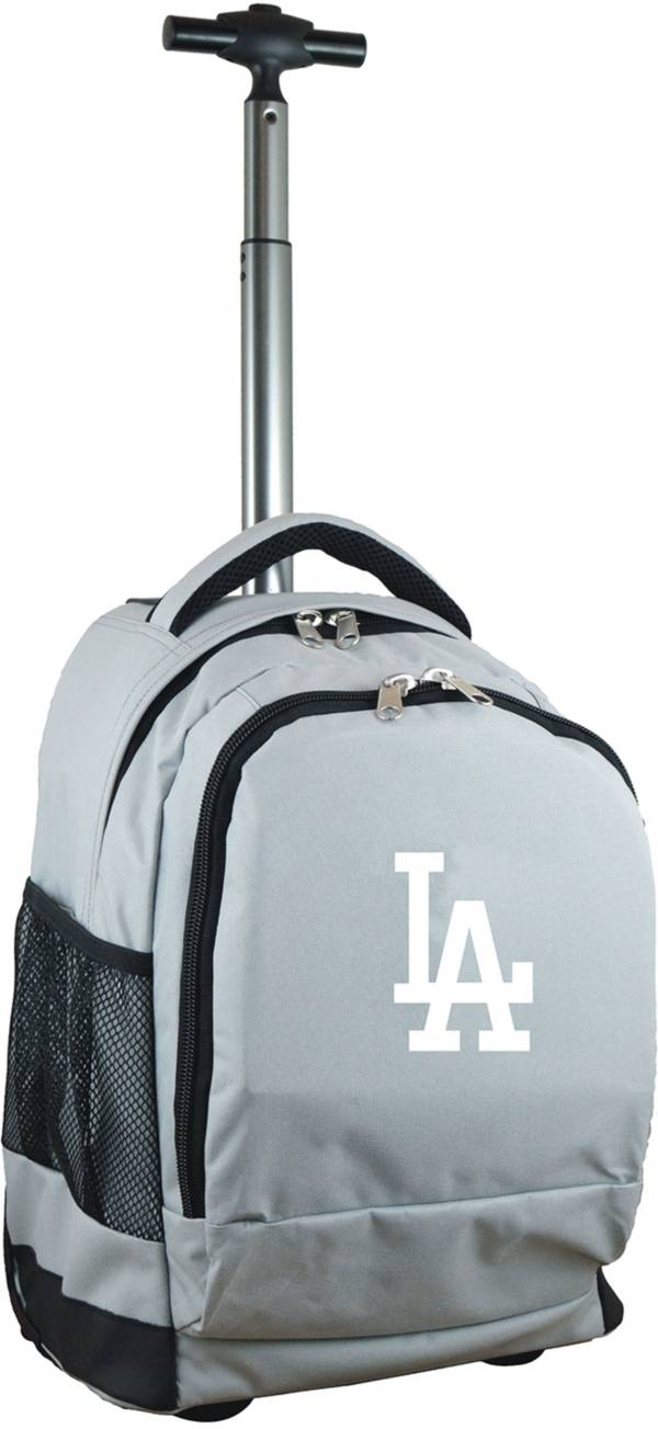 Mojo Los Angeles Dodgers Wheeled Premium Grey Backpack product image