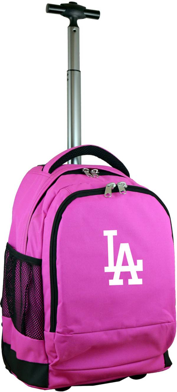 Mojo Los Angeles Dodgers Wheeled Premium Pink Backpack product image