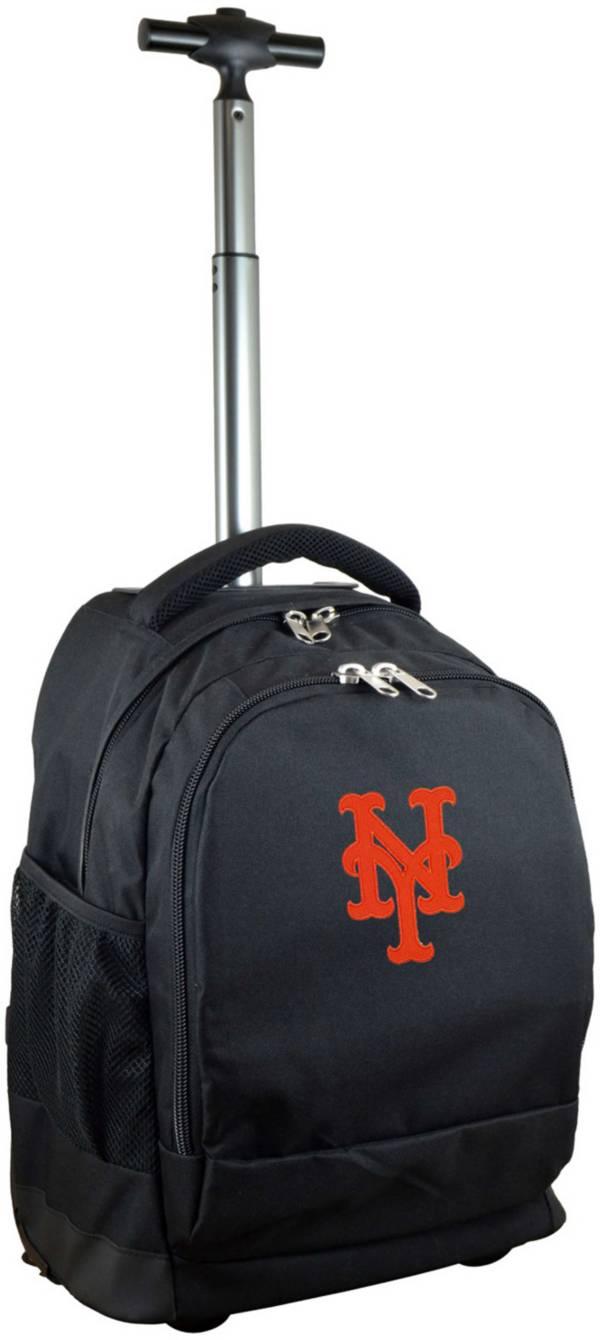 Mojo New York Mets Wheeled Premium Black Backpack product image