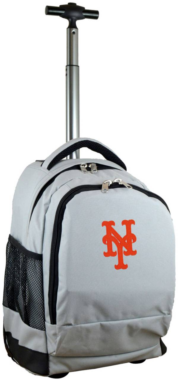 Mojo New York Mets Wheeled Premium Grey Backpack product image