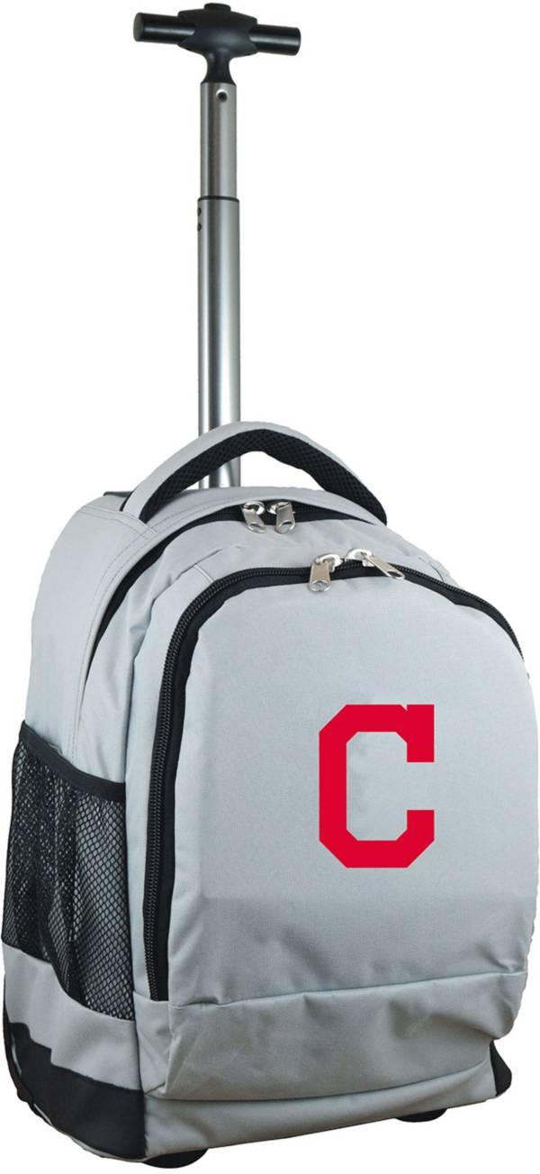 Mojo Cleveland Indians Wheeled Premium Grey Backpack product image