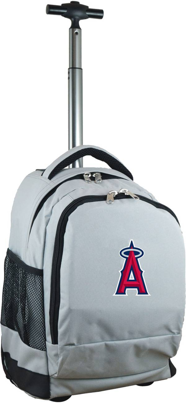 Mojo Los Angeles Angels Wheeled Premium Grey Backpack product image