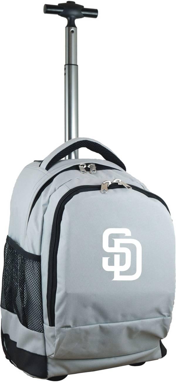 Mojo San Diego Padres Wheeled Premium Grey Backpack product image