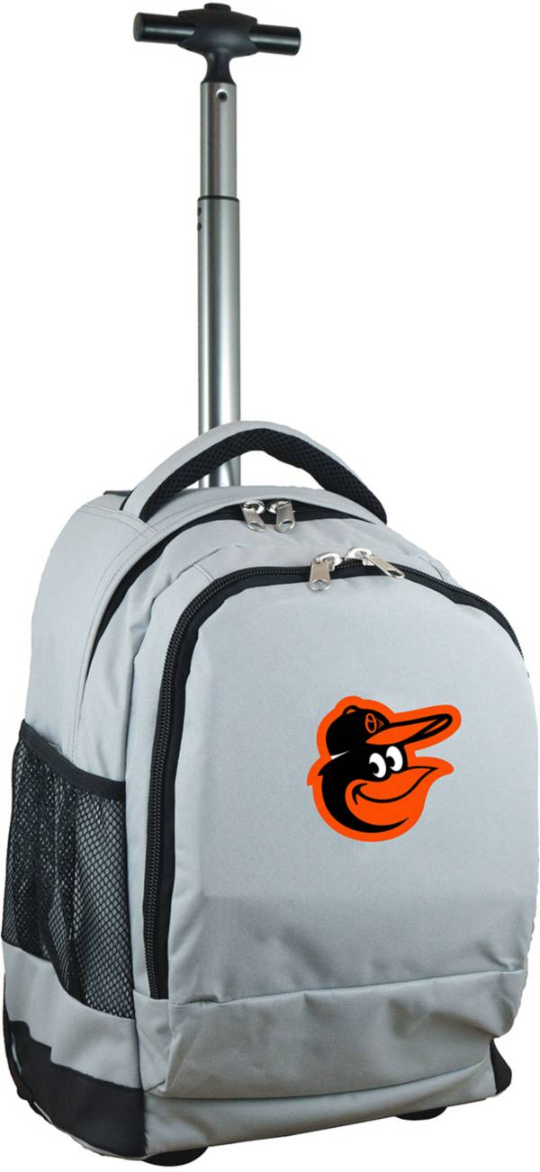 Mojo Baltimore Orioles Wheeled Premium Grey Backpack product image