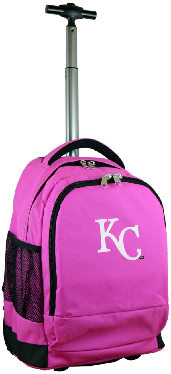 Mojo Kansas City Royals Wheeled Premium Pink Backpack product image