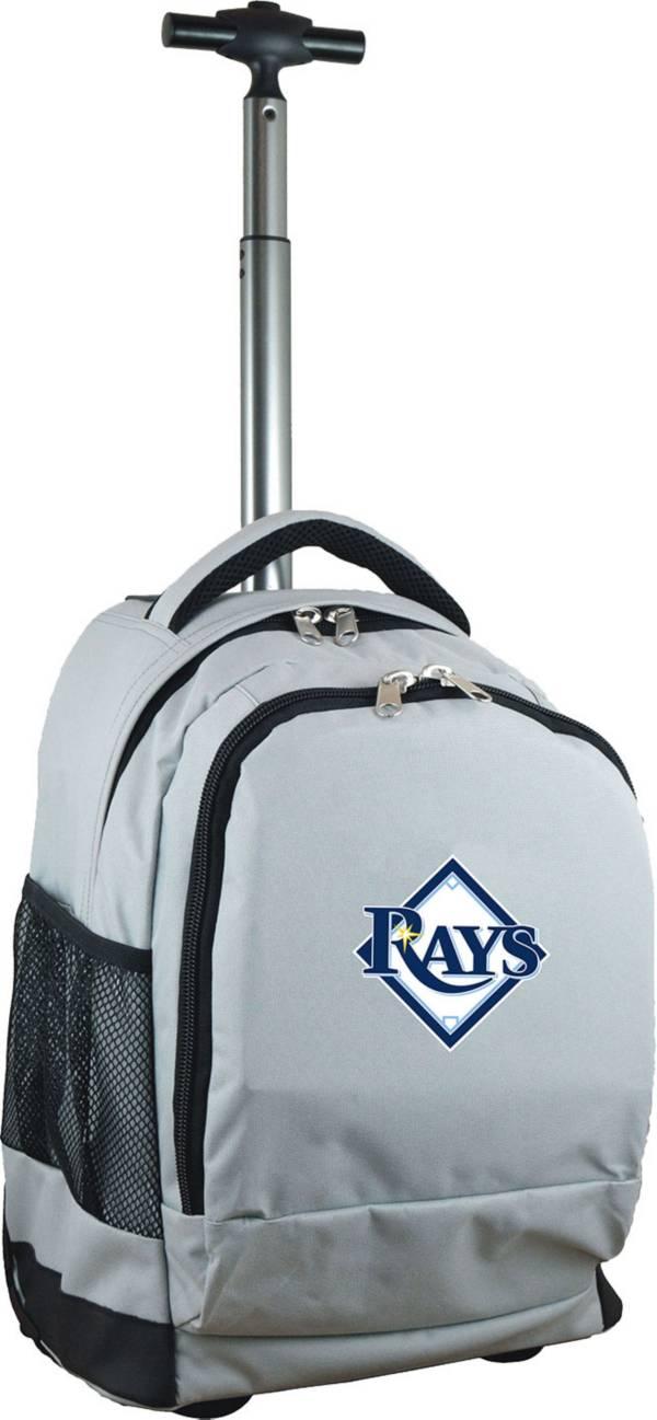 Mojo Tampa Bay Rays Wheeled Premium Grey Backpack product image