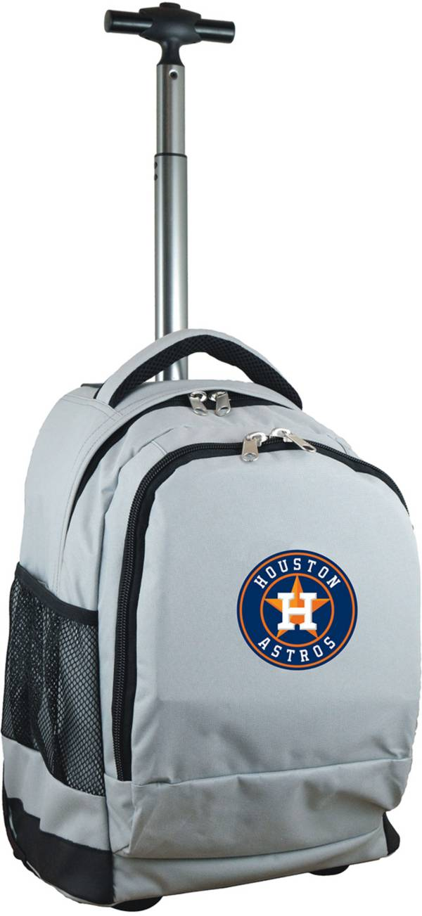 Mojo Houston Astros Wheeled Premium Grey Backpack product image