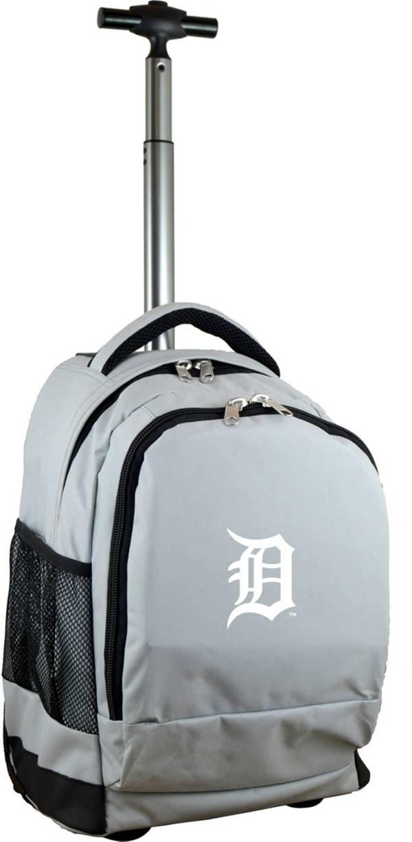 Mojo Detroit Tigers Wheeled Premium Grey Backpack product image
