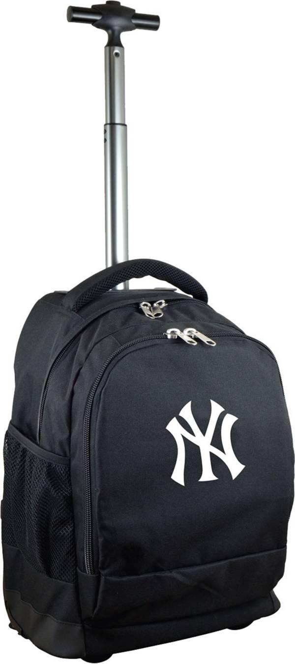 Mojo New York Yankees Wheeled Premium Black Backpack product image