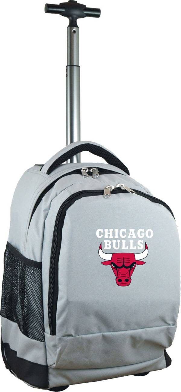 Mojo Chicago Bulls Wheeled Premium Grey Backpack product image
