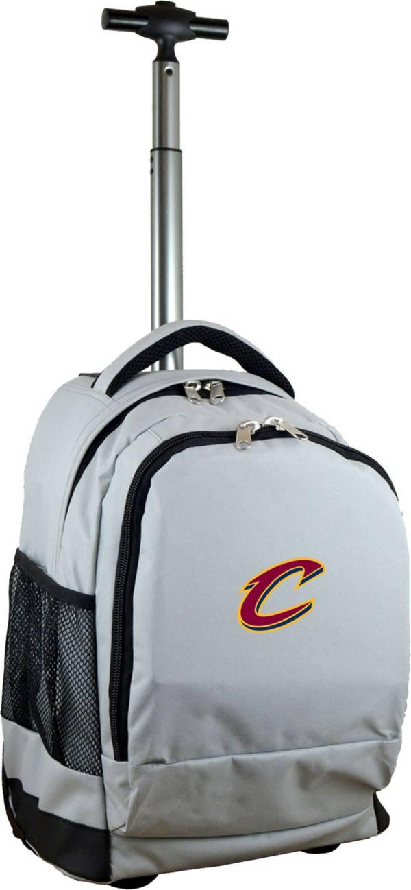 Mojo Cleveland Cavaliers Wheeled Premium Grey Backpack product image