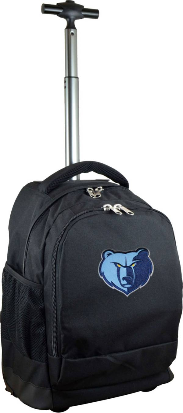 Mojo Memphis Grizzlies Wheeled Premium Black Backpack product image