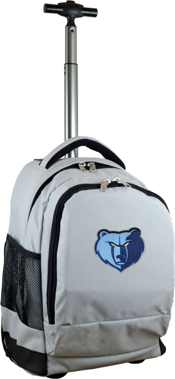 Mojo Memphis Grizzlies Wheeled Premium Grey Backpack product image