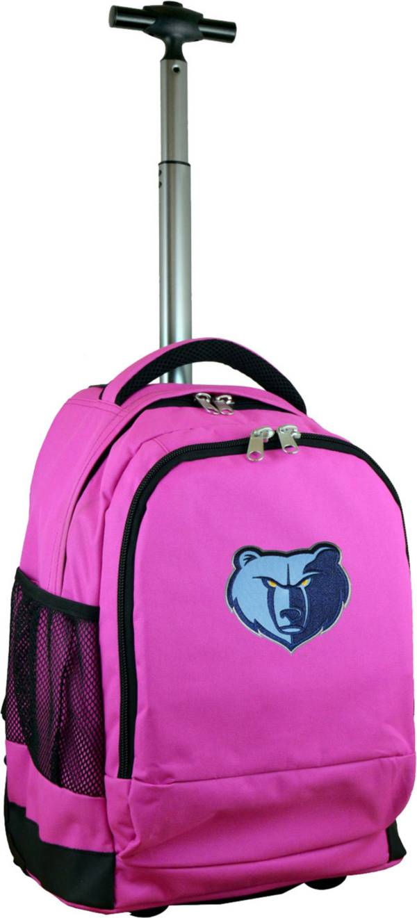 Mojo Memphis Grizzlies Wheeled Premium Pink Backpack product image