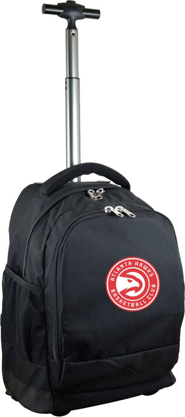Mojo Atlanta Hawks Wheeled Premium Black Backpack product image