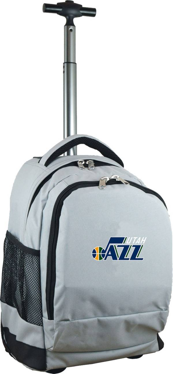 Mojo Utah Jazz Wheeled Premium Grey Backpack product image