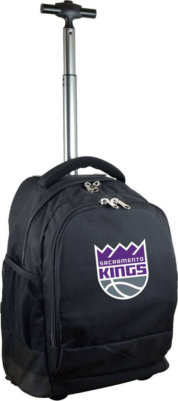 Mojo Sacramento Kings Wheeled Premium Black Backpack product image