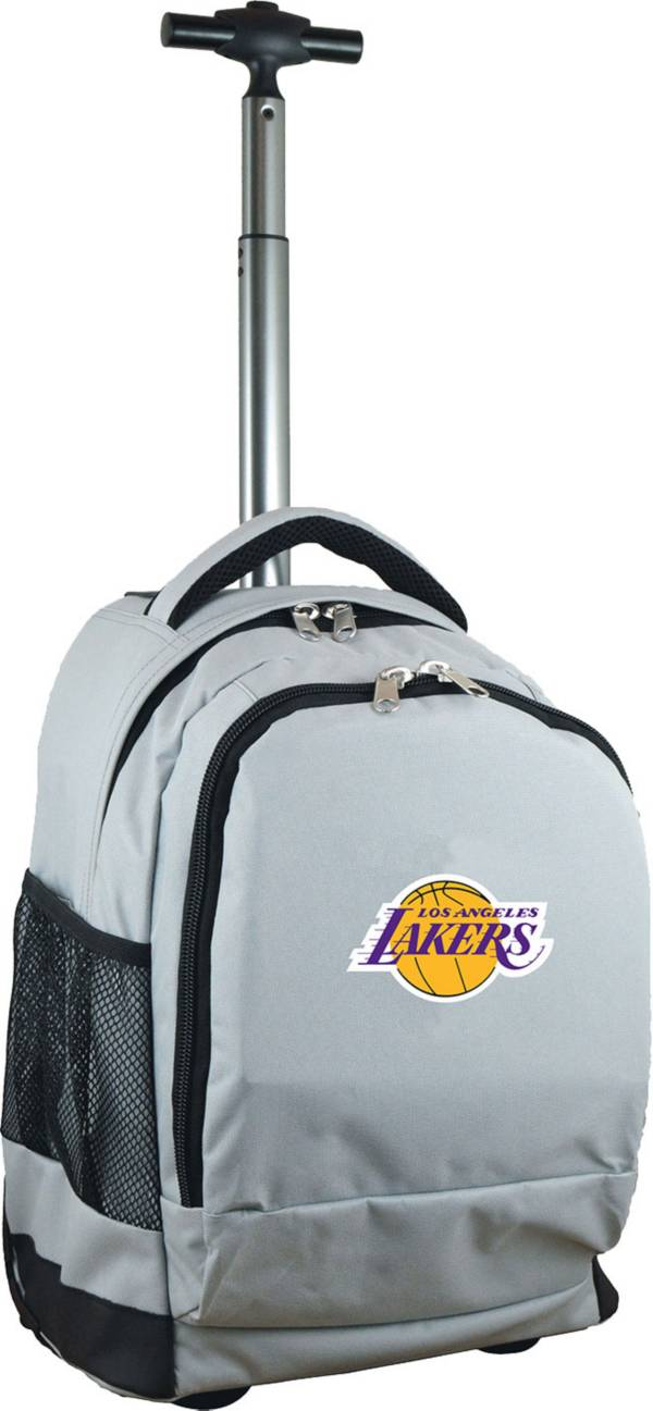 Mojo Los Angeles Lakers Wheeled Premium Grey Backpack product image