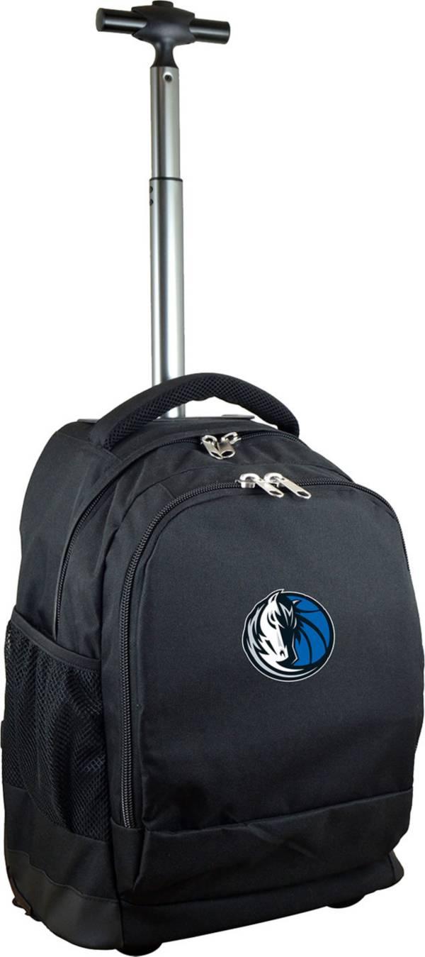 Mojo Dallas Mavericks Wheeled Premium Black Backpack product image
